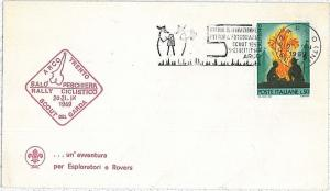 BOY SCOUTS: SPECIAL COVER and POSTMARK : ITALY 1969