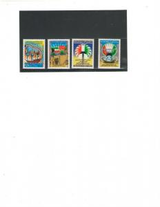 KUWAIT :Sc. 1589-92 /***NATIONAL DAY-43rd ANNIV***/ Complete Set / MNH.