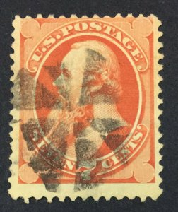 MOMEN: US STAMPS #149 USED LOT #44423