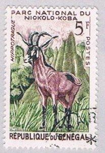 Senegal 195 Used Roan Antelope 1960 (BP3002)