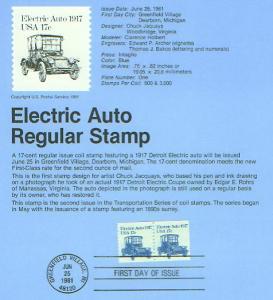 Auto Electric (USCPF1906)