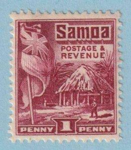 SAMOA 143a PERF 14X14.5  MINT HINGED OG * NO FAULTS EXTRA FINE!