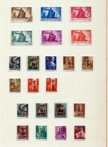 Hungary 1940s M&U Collection Dues Red X Air 120+Items (Wa 654