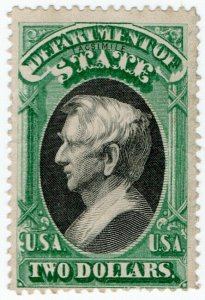 (I.B) US Postal Service : Department of State $2 (Senpf reprint)