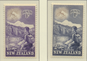 New Zealand Stamps Scott #B44 To B45, Mint Hinged - Free U.S. Shipping, Free ...