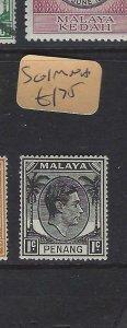 MALAYA  PENANG  (PP2901B)  KGVI  1C  SG 1   MNH