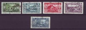 J4716 JLstamps 1930-5 various fr. lebanon used $9.00+v views