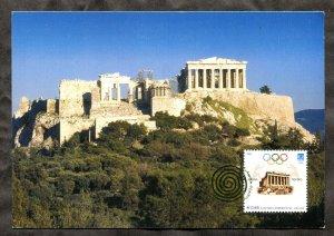 p747 - GREECE 2004 Olympic Games Maxi Card. Maximum Postcard