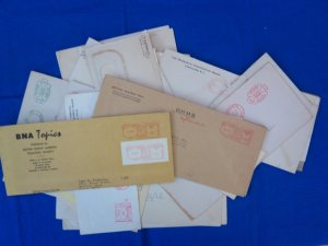Canada: 1930's-1950's, 37 Diff. Canadian Meter Covers (S17890)