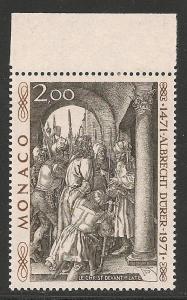 Monaco #817 VF MNH - 1972 2fr Christ Before Pilate