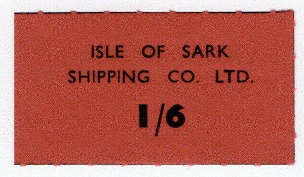 (I.B-CK) Cinderella Collection : Isle of Sark Shipping Company 1/6d