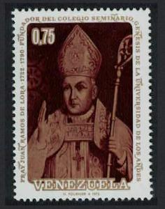 Venezuela 250th Birth Anniversary 1972 of Bishop Ramos de Lora 1973 MNH