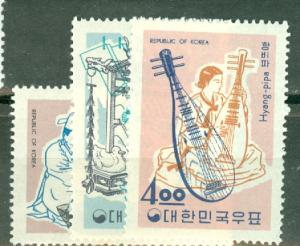 Korea 417-26 mint CV $65; scan shows only a few