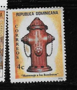 DOMINICAN REPUBLIC STAMP MNH # OCTUX16