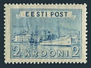 Estonia 138,MNH.Michel 137. Harbor at Tallinn, 1938.