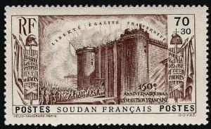 French Sudan French Revolution B3 VF hr $11...Make me an Offer!