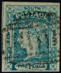 Australia-NSW #24 Queen Victoria; Used (2Stars)