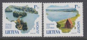 Lithuania 691-692 Europa MNH VF