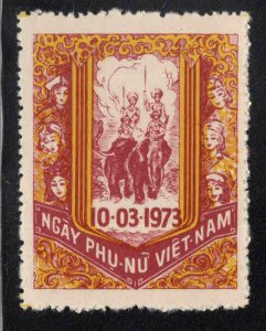 South Vietnam   NGAY PHU Nu Viet Nam MNH**
