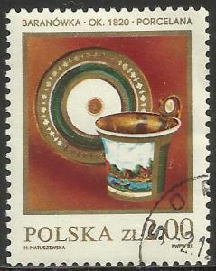 Poland 1982 Scott# 2503 CTO ( writing on reverse)