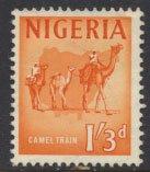 Nigeria  SG 97 SC# 109 Used 1961 Definitive Hornbill please see scan