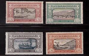 Italy Scott 165-168 MH* 1923 Alessandro Manzoni short set  CV $80