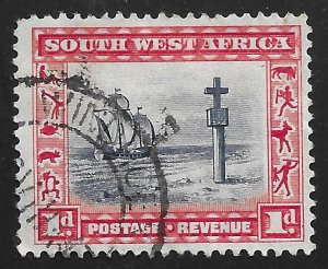 South West Africa #109a 1p Cape Cross
