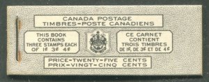 CANADA COMPLETE BOOKLET BK47 BILINGUAL