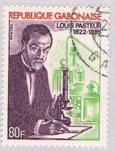 Gabon Pasteur 80f - pickastamp (AP103605)