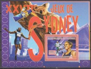 2007 Guinea 4643/B1157 Olympic athletes / Cathy Freeman 7,00 €