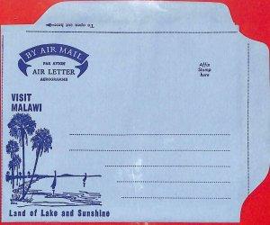 aa2307  -  MALAWI  - Postal HISTORY -  Aerogramme COVER