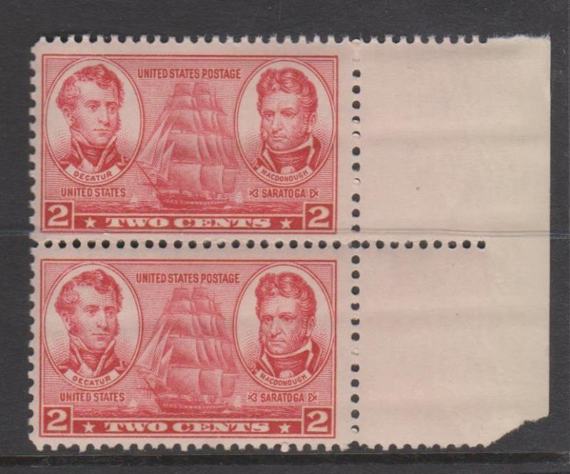 USA Sc#791 MNH Pair