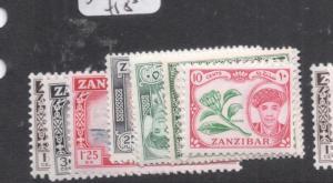 Zanzibar SG 373-83 MNH (1dmi)
