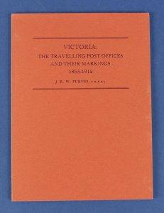 AUSTRALIA - Victoria : The Travelling POs & Their Markings 1865-1912.