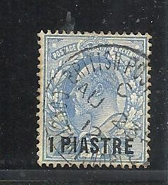 Great Britain Offices in Turkish Empire #13 used cv $.25