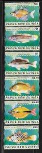 Papua New Guinea 1099-1104 Fish Mint NH