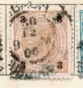 Austria 1899 Early Issue Fine Used 3h. NW-11512