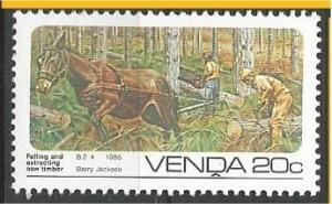 VENDA, 1986, MNH 20c, Forestry Scott 154
