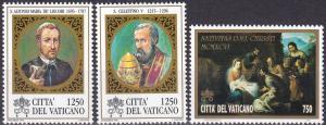 Vatican City #1019-21  MNH CV $5.20  Z85