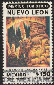 MEXICO 1515, Promotion of Touristic Sites, N Leon Used. VF. (1244)