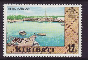 1980 Kiribati 12c Betio Harbour No Wmk Mint