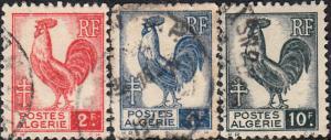 Algeria #172-186 Used Set