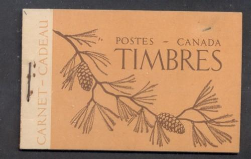 Canada  1947 Bk 39a French cpl booklet mint NH 1 staple