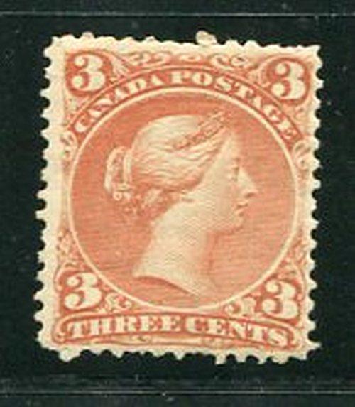 Canada #25  Mint  O.G.