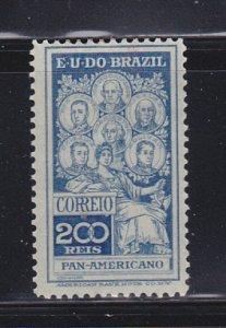Brazil 191 Set MH Famous People (A)