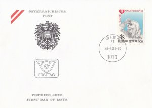 AUS251) Austria 1983 75th Anniversary Of Kinderfreunde