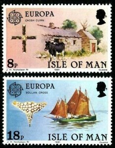 Isle Of Man MNH 191-2 Europa Folklore 1981