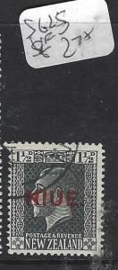 NIUE   (PP0310B)  ON NZ   KGV   1 1/2D   SG 25   VFU