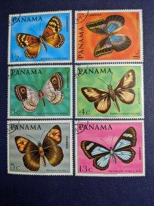 Panama 483-483E XF complete set, CV $4