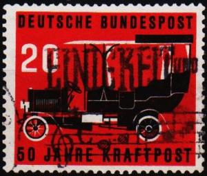 Germany. 1955 20pf  S.G.1137 Fine Used